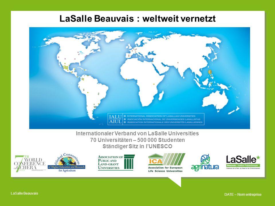 LaSalle Beauvais : weltweit vernetzt