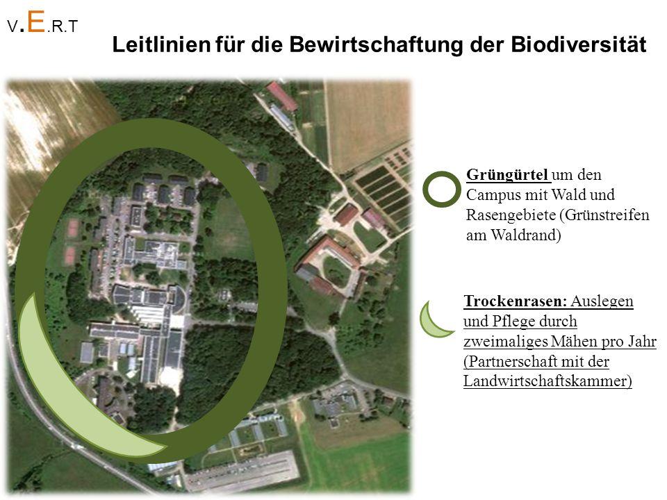 Leitlinien für die Bewirtschaftung der Biodiversität