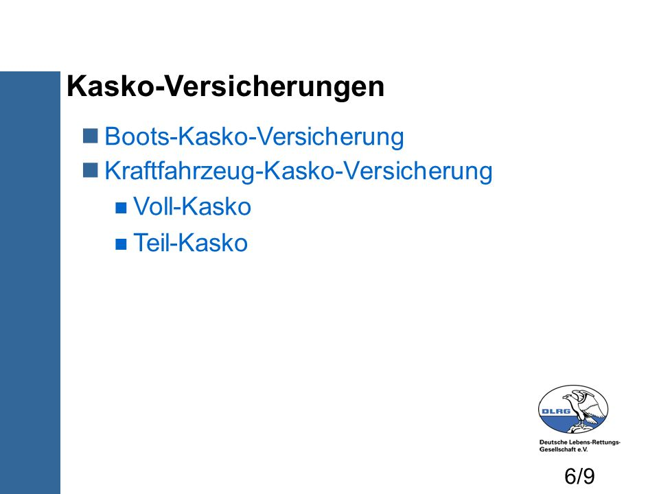 Kasko-Versicherungen