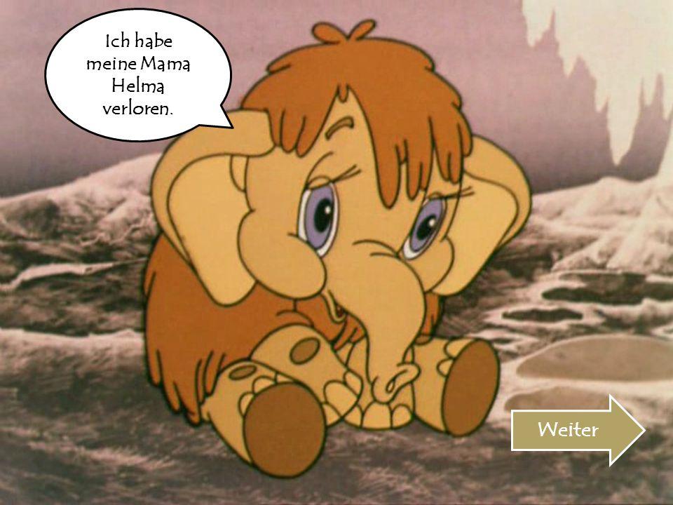 Ich habe meine Mama Helma verloren.