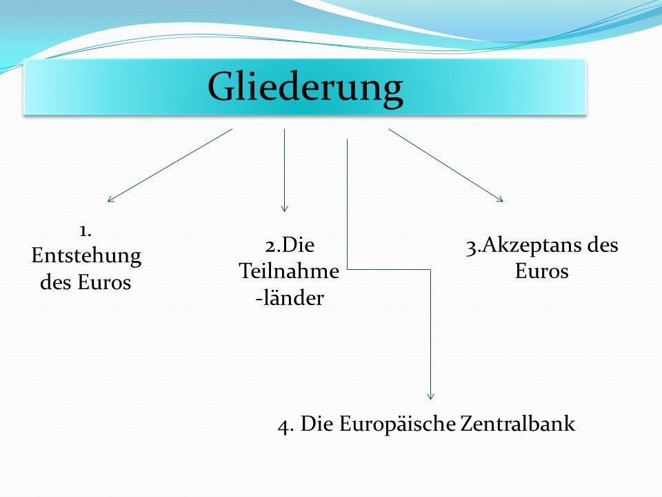 4. Die Europäische Zentralbank
