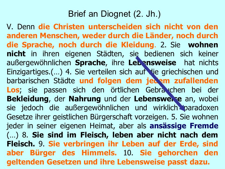 Brief an Diognet (2. Jh.)
