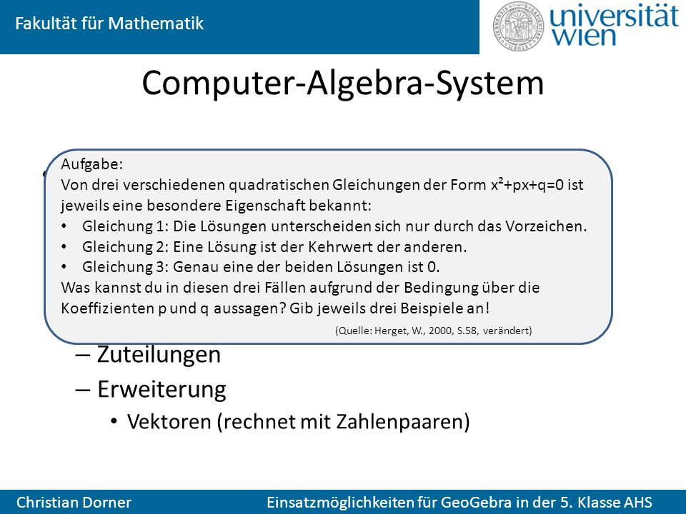 Computer-Algebra-System