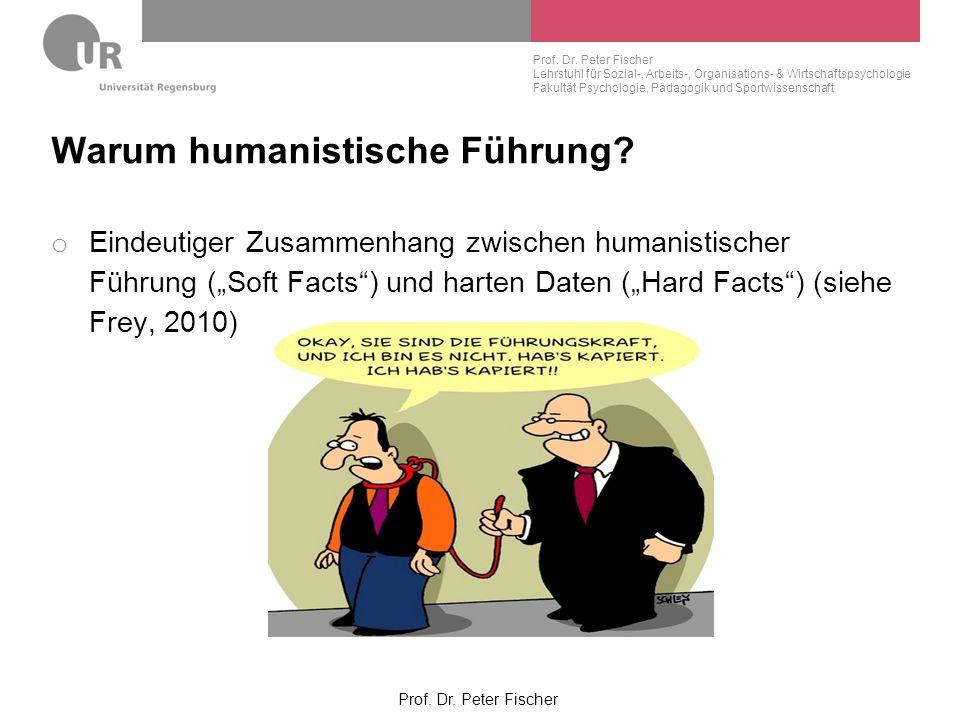 Warum humanistische Führung