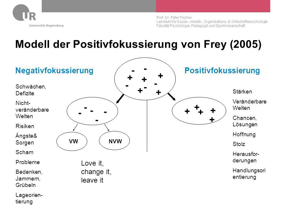 Modell der Positivfokussierung von Frey (2005)