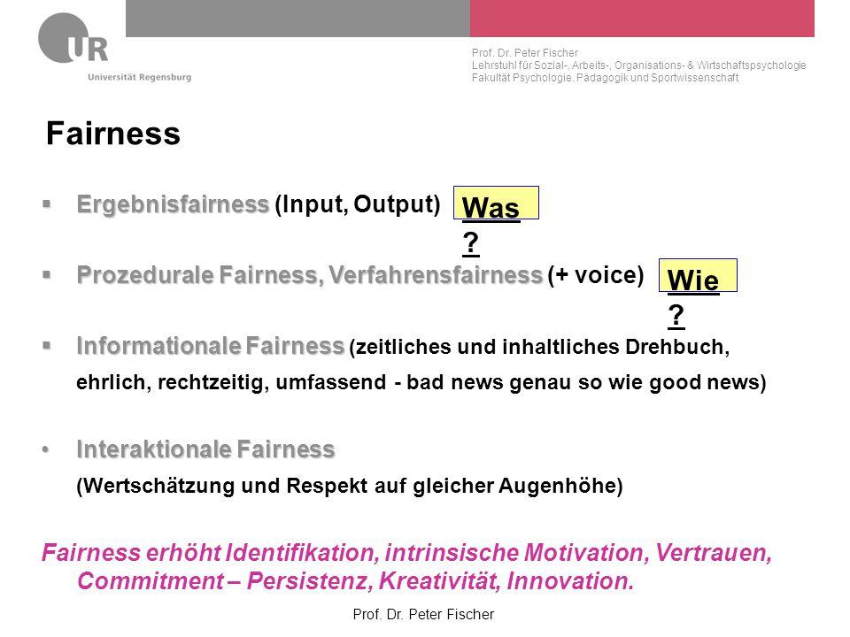 Fairness Was Wie Ergebnisfairness (Input, Output)