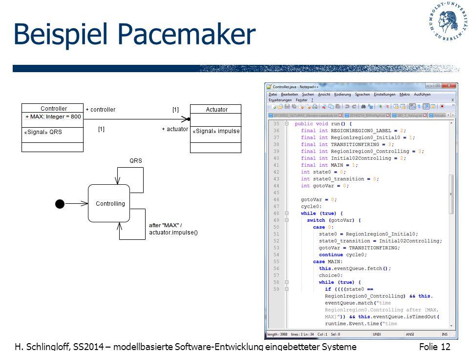 Beispiel Pacemaker
