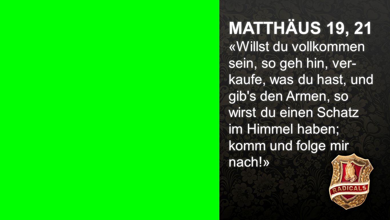 Matthäus 19, 21
