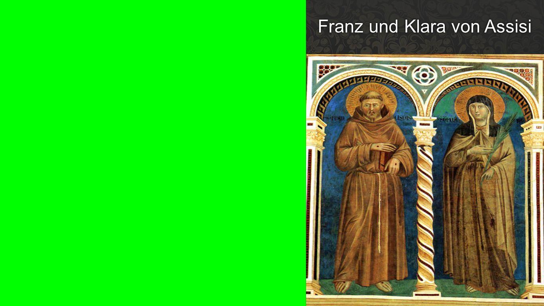 Franz und Klara von Assisi