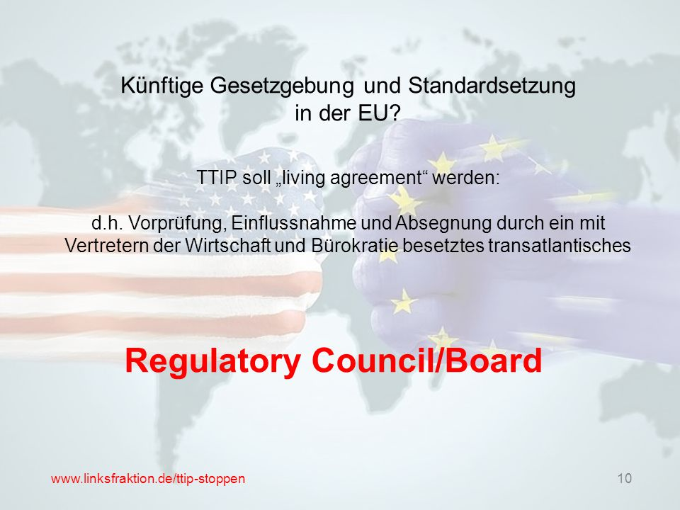 Regulatory Council/Board