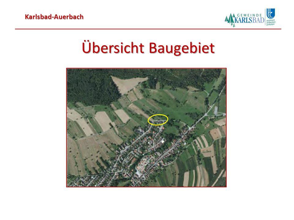 Karlsbad-Auerbach Übersicht Baugebiet