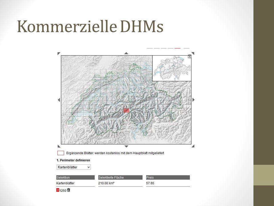 Kommerzielle DHMs