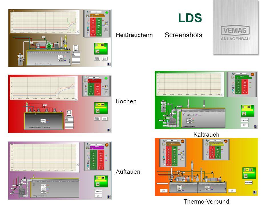 Kochen Heißräuchern Auftauen Kaltrauch Thermo-Verbund LDS Screenshots