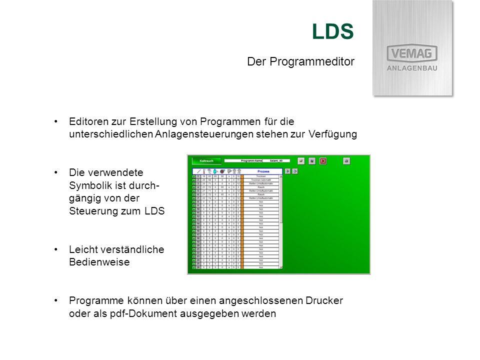 LDS Der Programmeditor