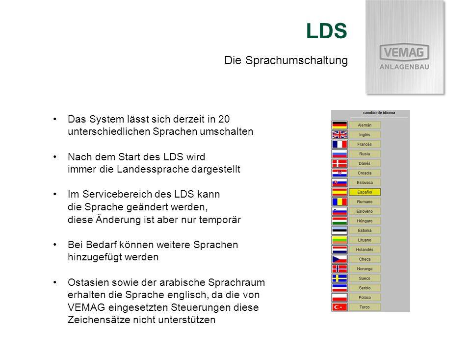 LDS Die Sprachumschaltung