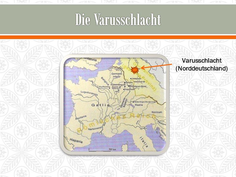 Die Varusschlacht Varusschlacht (Norddeutschland)