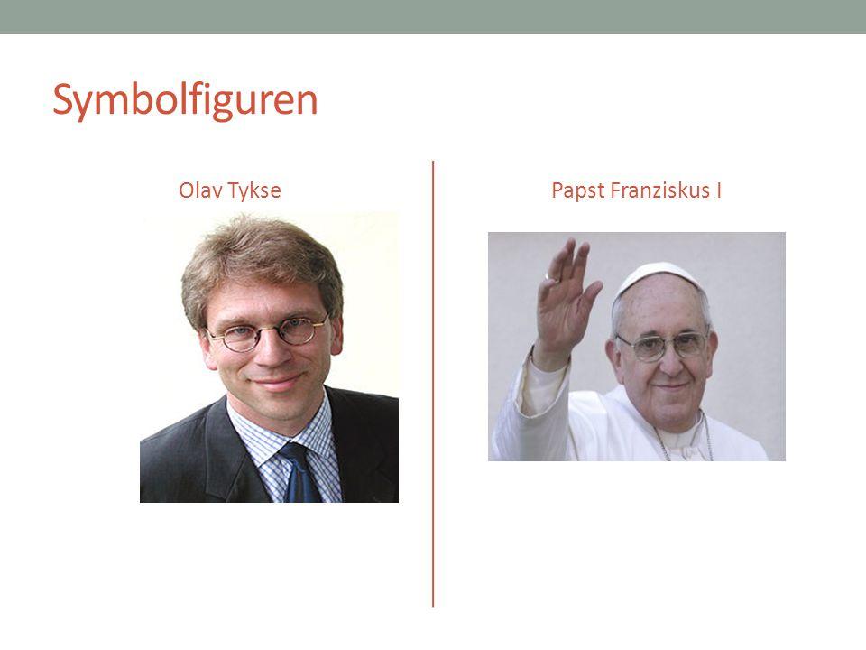Symbolfiguren Olav Tykse Papst Franziskus I