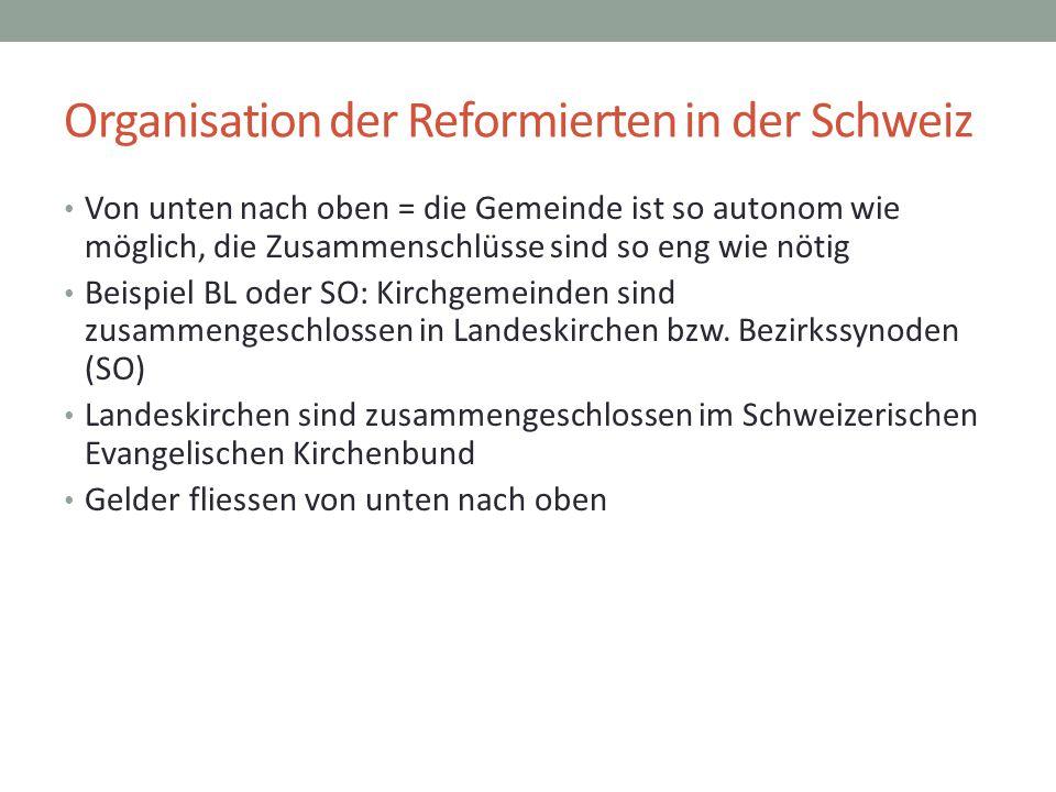 Organisation der Reformierten in der Schweiz