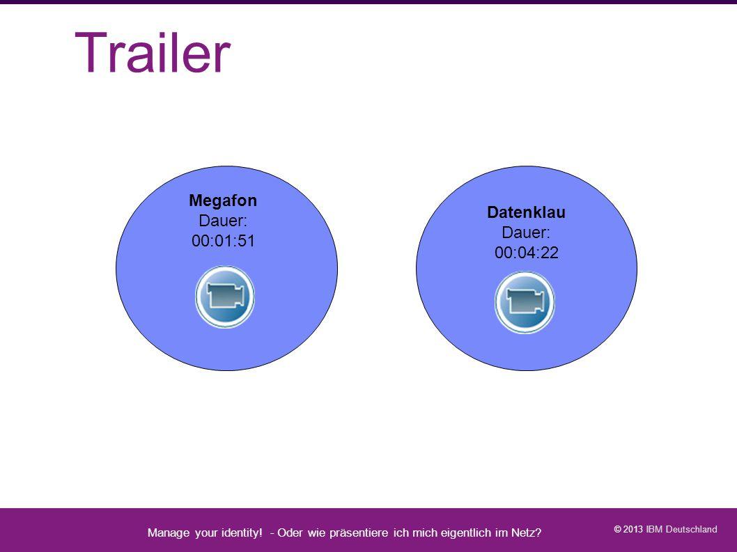 Trailer Manage your identity - Datenschutz geht zur Schule - 1