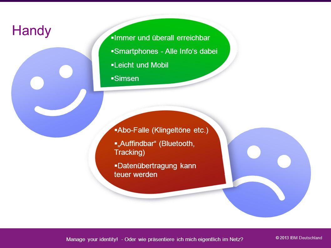 Handy Manage your identity - Datenschutz geht zur Schule - 23