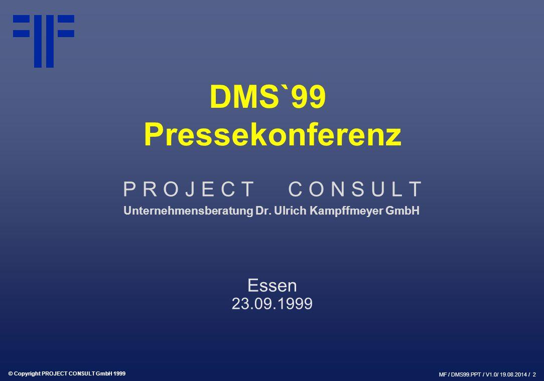 Unternehmensberatung Dr. Ulrich Kampffmeyer GmbH