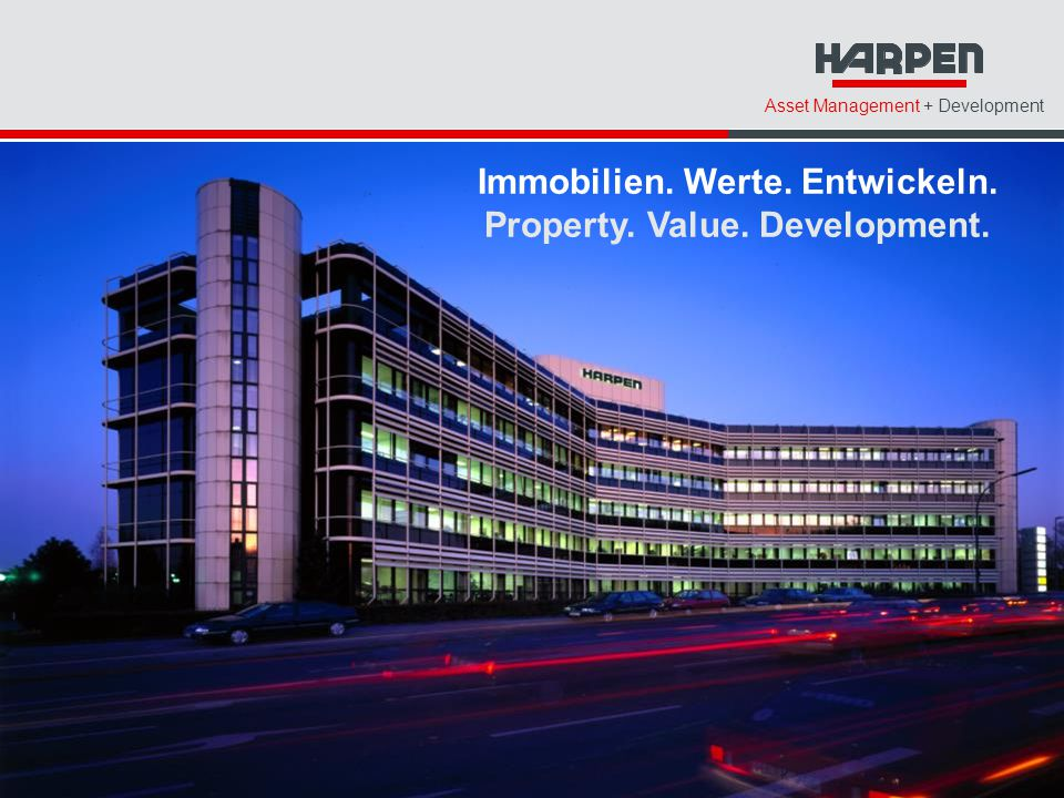 Immobilien. Werte. Entwickeln. Property. Value. Development.