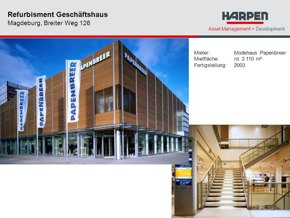 Refurbisment Geschäftshaus