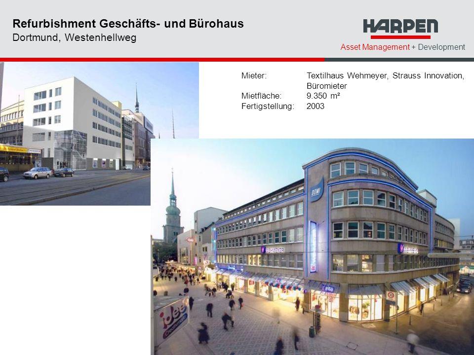 Refurbishment Geschäfts- und Bürohaus