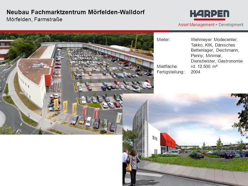 Neubau Fachmarktzentrum Mörfelden-Walldorf Mörfelden, Farmstraße