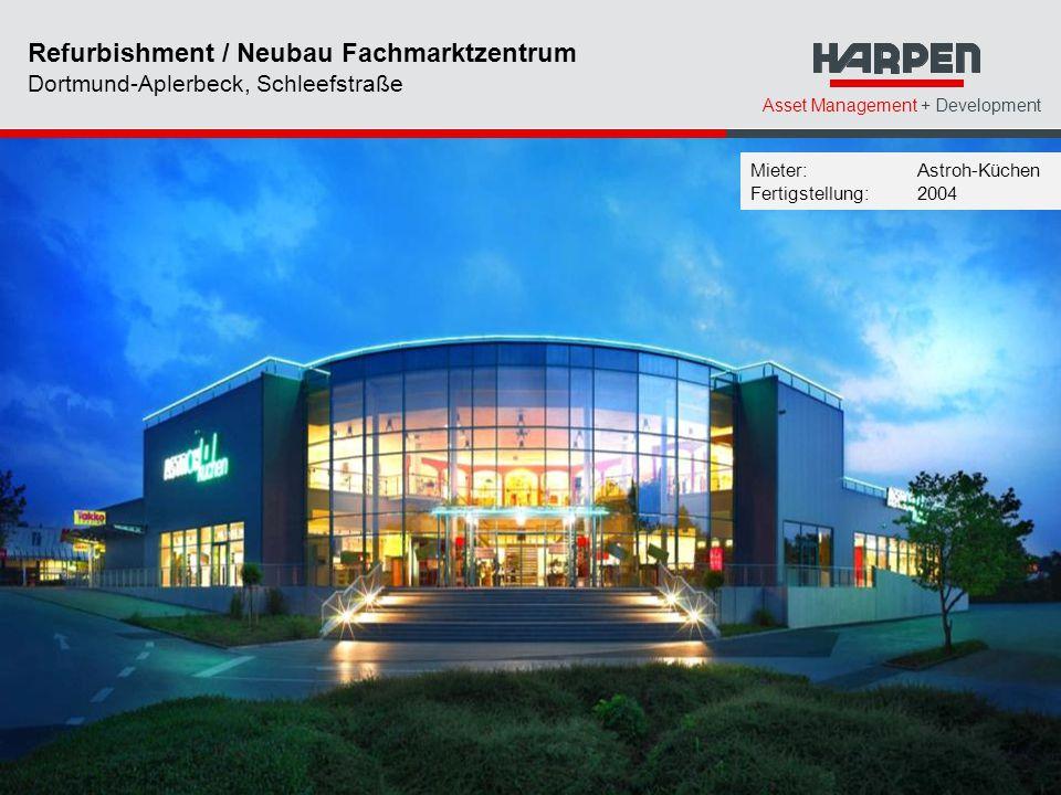 Refurbishment / Neubau Fachmarktzentrum