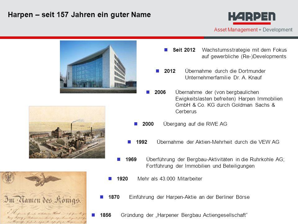 Harpen – seit 157 Jahren ein guter Name