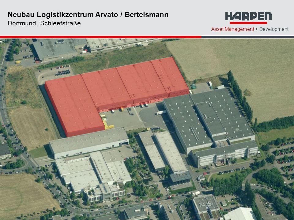 Neubau Logistikzentrum Arvato / Bertelsmann