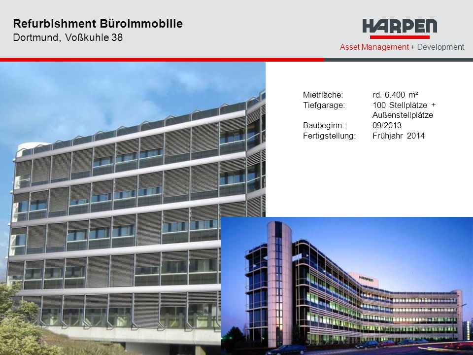 Refurbishment Büroimmobilie