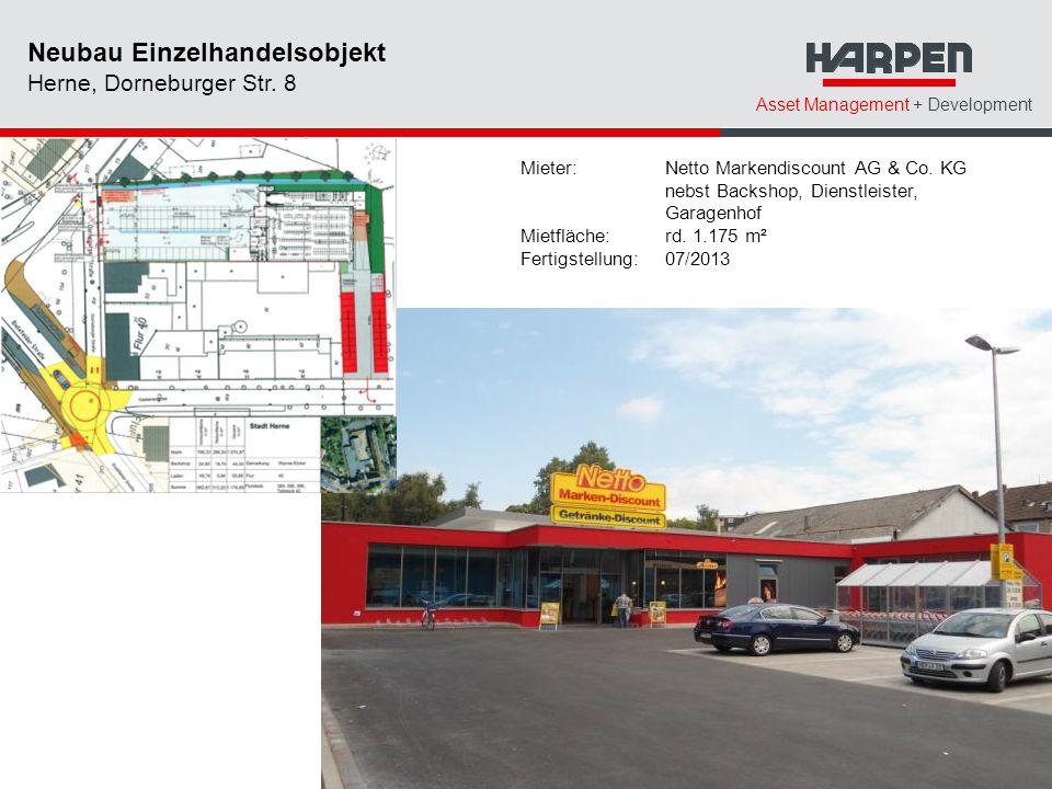 Neubau Einzelhandelsobjekt