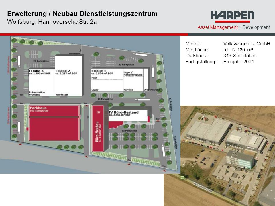 Erweiterung / Neubau Dienstleistungszentrum