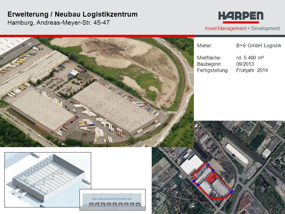 Erweiterung / Neubau Logistikzentrum