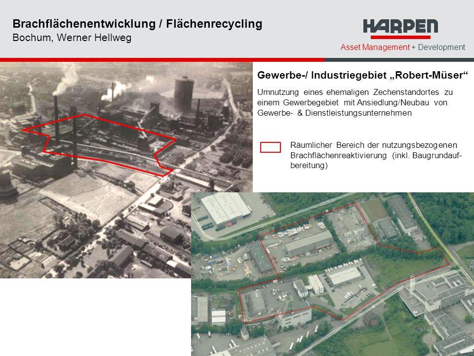 Brachflächenentwicklung / Flächenrecycling Bochum, Werner Hellweg