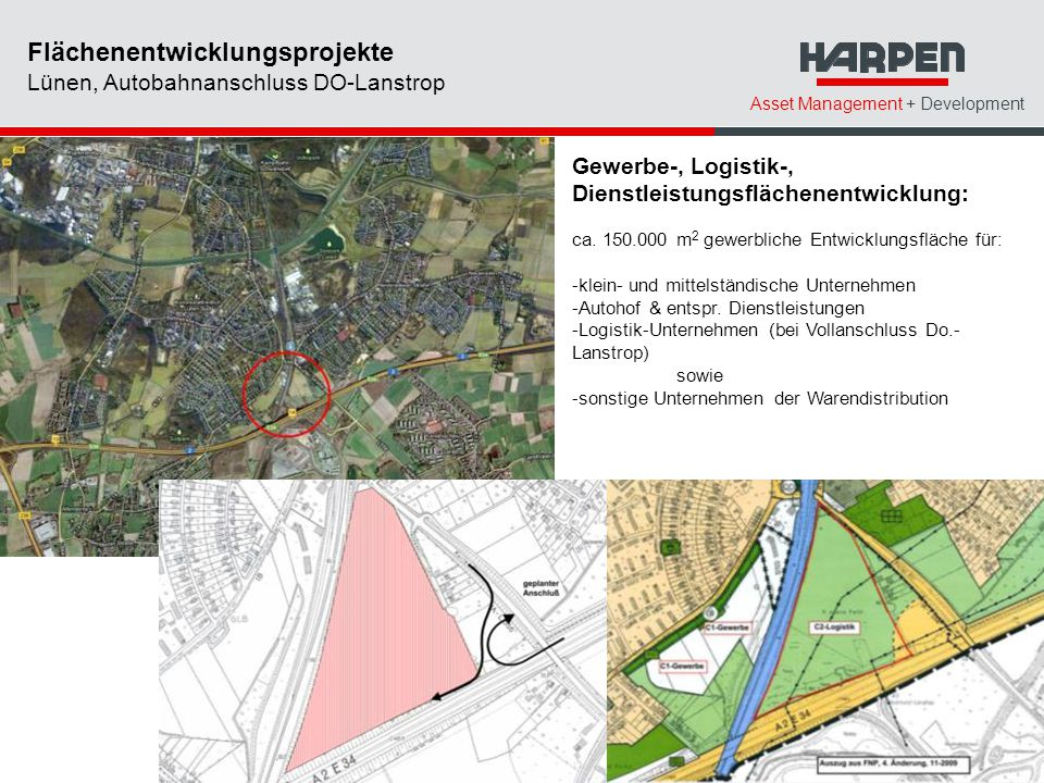 Flächenentwicklungsprojekte