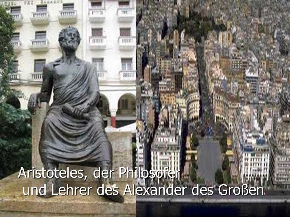 Aristoteles, der Philosofer und Lehrer des Alexander des Großen