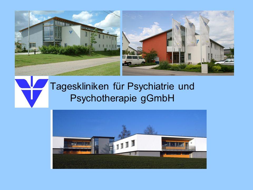 Tageskliniken für Psychiatrie und Psychotherapie gGmbH