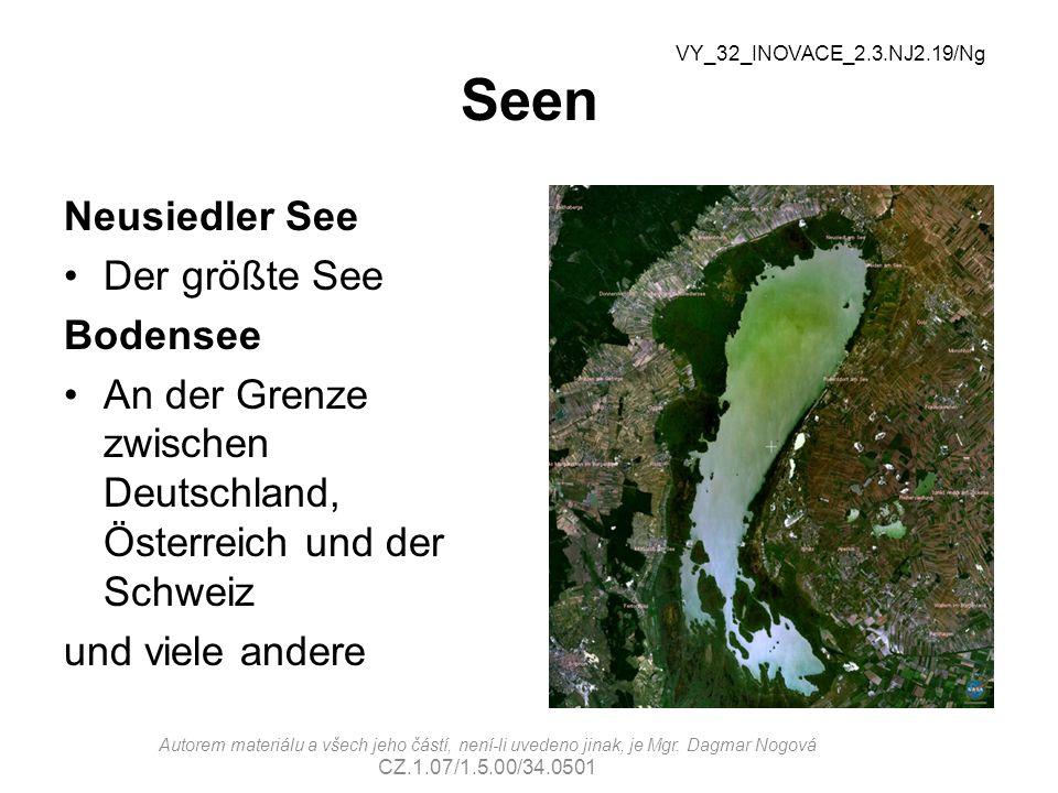 Seen Neusiedler See Der größte See Bodensee