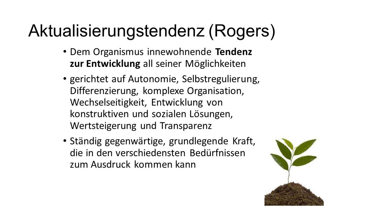 Aktualisierungstendenz (Rogers)