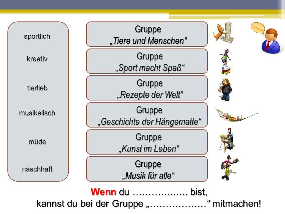 """""""Geschichte der Hängematte"""