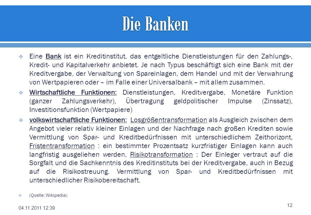 Die Banken