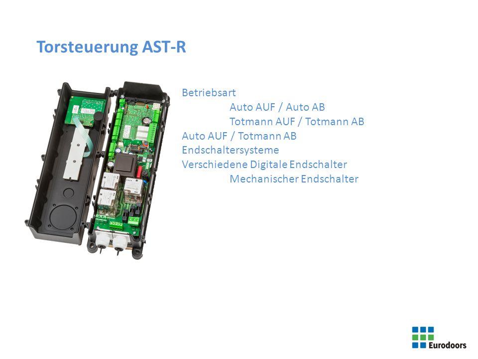 Torsteuerung AST-R Betriebsart Auto AUF / Auto AB