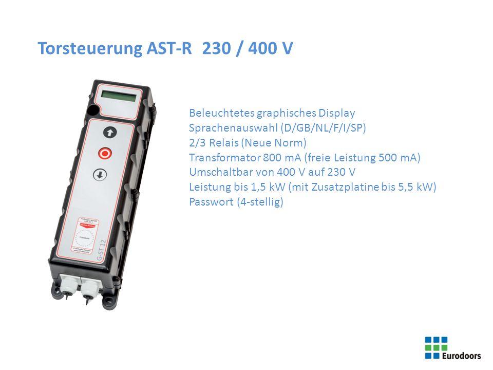 Torsteuerung AST-R 230 / 400 V Beleuchtetes graphisches Display