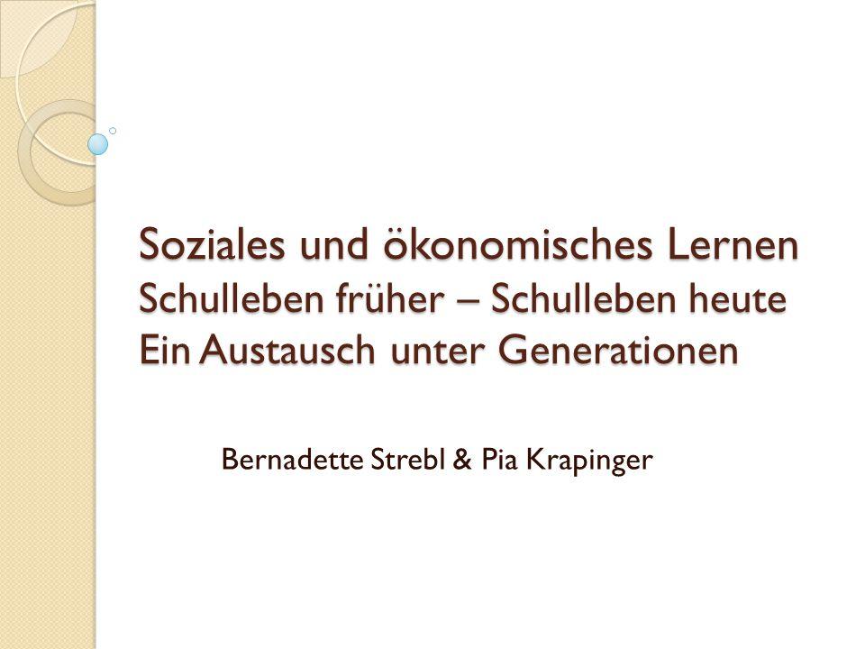 Bernadette Strebl & Pia Krapinger