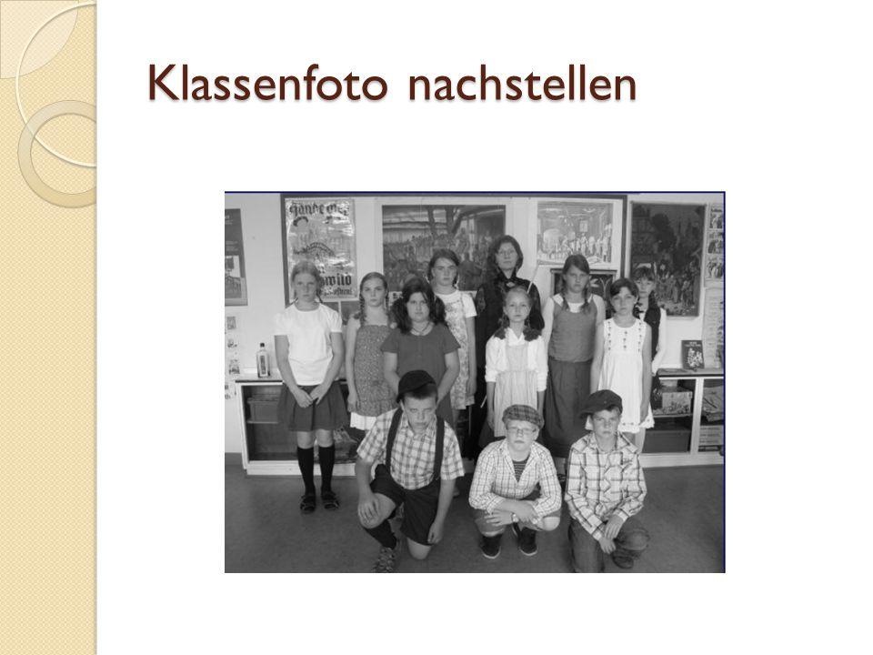 Klassenfoto nachstellen