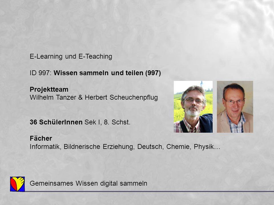 E-Learning und E-Teaching