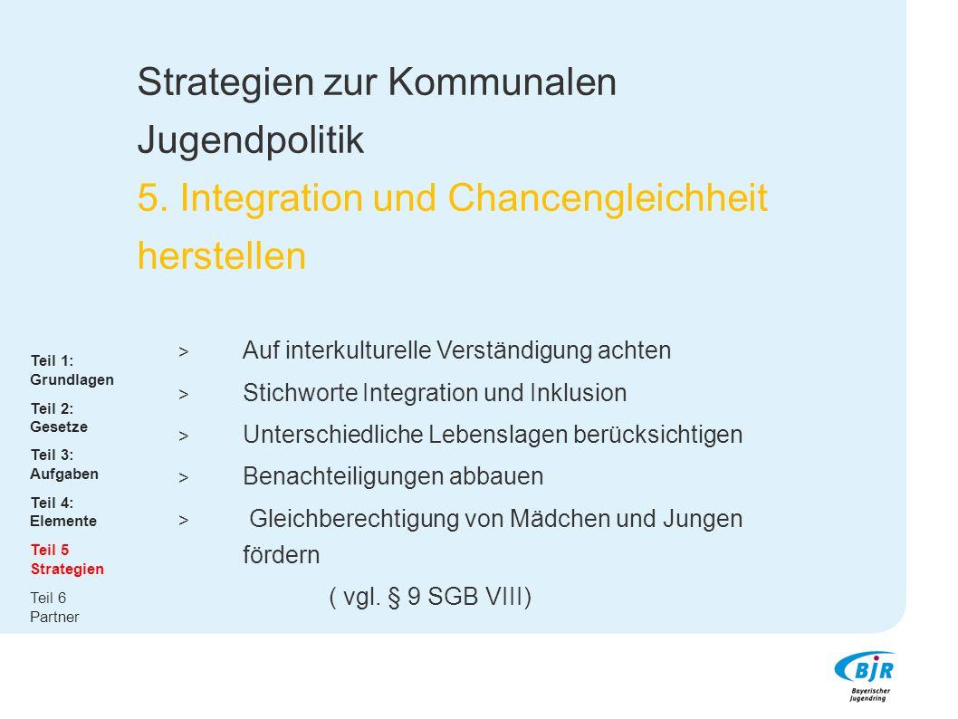 Strategien zur Kommunalen Jugendpolitik 5